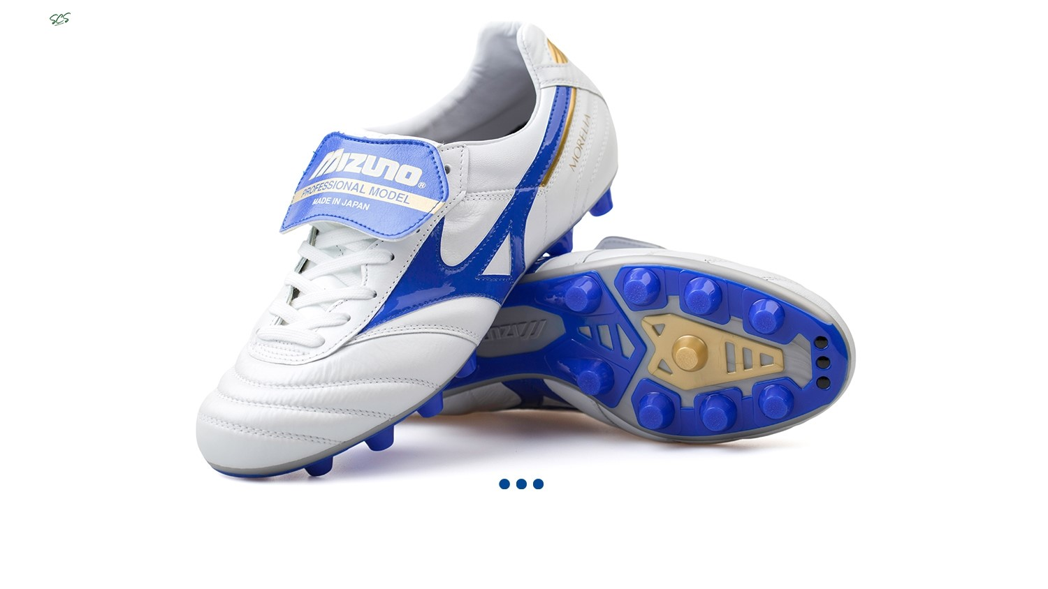 "Acquisto Mizuno Morelia II JAPAN ""Legend Blue"" MD Bianco"