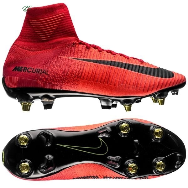 Acquisto Nike Mercurial Superfly SG Pro Anti Clog Rosso