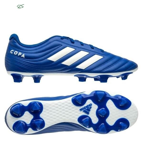Acquisto Adidas Copa 20.4 FG/AG Inflight Reale Blu Bianco